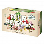 Набор чая Ahmad Tea Four Seasons Collection ассорти 1,5г X 90 пак